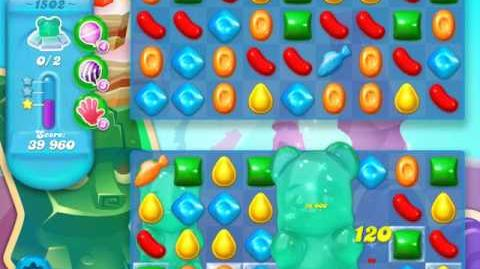 Candy Crush Soda Saga Level 1502 (buffed) (27 moves)