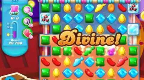 Candy Crush Soda Saga Level 545 (8th version, 3 Stars)