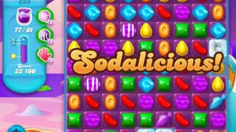 Candy Crush Soda Saga Level 699 (2nd buffed, 3 Stars)