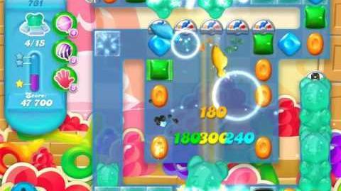 Candy Crush Soda Saga Level 731 (3rd version)