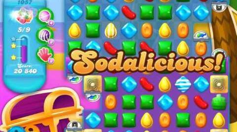 Candy Crush Soda Saga Level 1057 (8th version)
