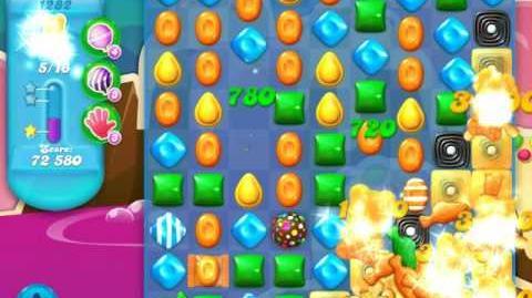 Candy Crush Soda Saga Level 1282 (nerfed)