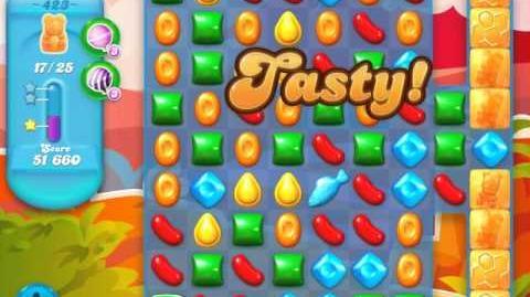 Candy Crush Soda Saga Level 423 (3 Stars)