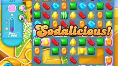 Candy Crush Soda Saga Level 502 (3 Stars)