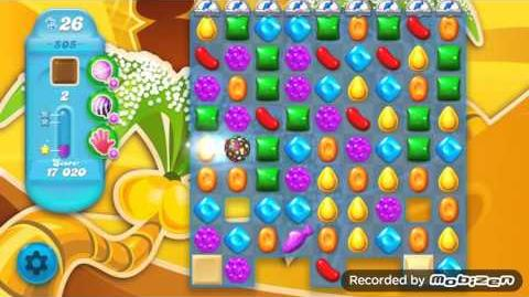 Candy Crush Soda Saga Level 505 (nerfed, 3 Stars)