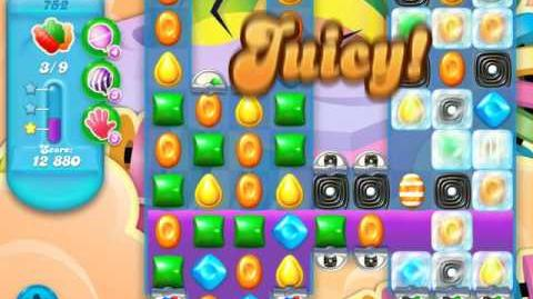 Candy Crush Soda Saga Level 752 (nerfed)