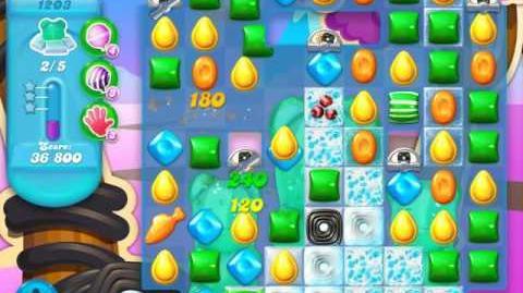 Candy Crush Soda Saga Level 1203 (2nd buffed, 3 Stars)