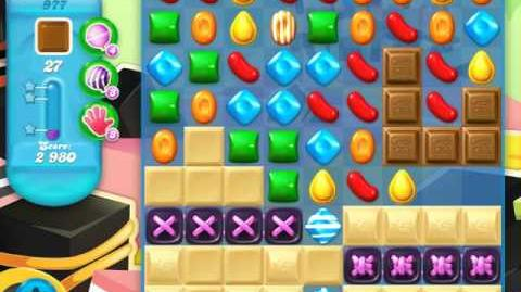 Candy Crush Soda Saga Level 977 (buffed)