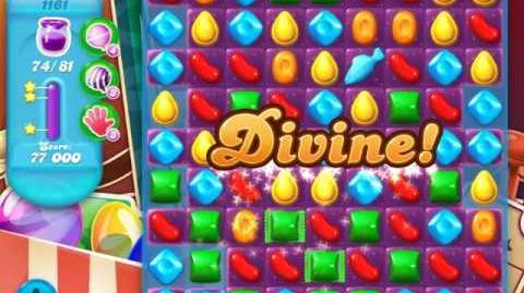 Candy Crush Soda Saga Level 1161 (5th version, 3 Stars)