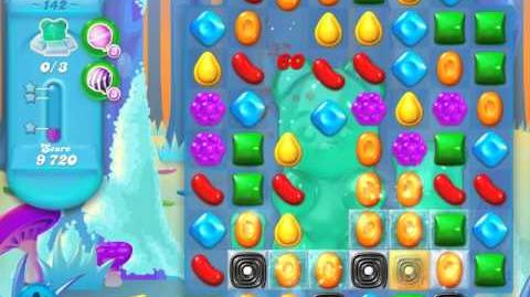 Candy Crush Soda Saga Level 142 (2nd nerfed, 3 Stars)