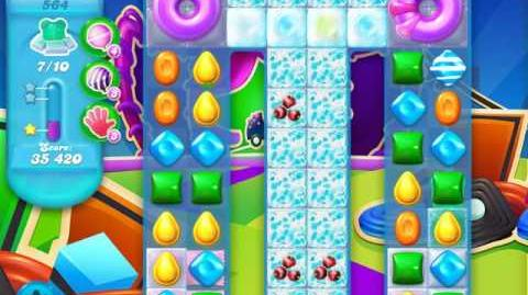 Candy Crush Soda Saga Level 564 (2nd version)