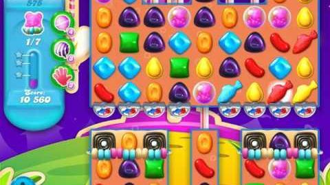 Candy Crush Soda Saga Level 575 (3rd version, 3 Stars)