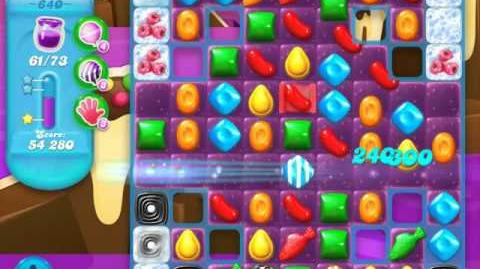 Candy Crush Soda Saga Level 640 (nerfed, 3 Stars)