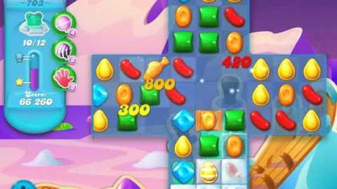 Candy Crush Soda Saga Level 703 (buffed, 3 Stars)