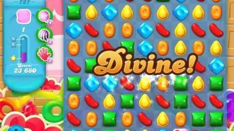 Candy Crush Soda Saga Level 727 (buffed, 3 Stars)