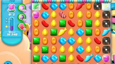 Candy Crush Soda Saga Level 750 (12th version, 3 Stars)