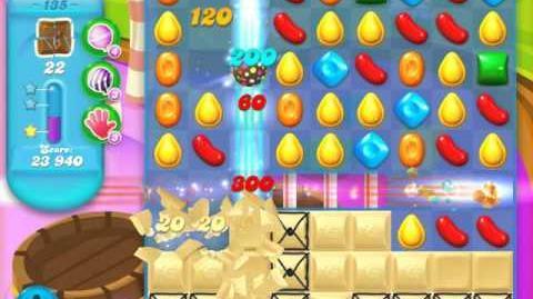 Candy Crush Soda Saga Level 135 (8th version, 3 Stars)
