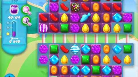Candy Crush Soda Saga Level 257 (2nd version, 3 Stars)