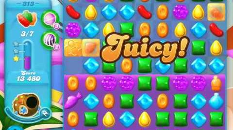 Candy Crush Soda Saga Level 313 (3 Stars)