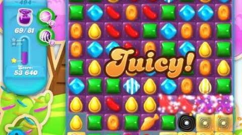 Candy Crush Soda Saga Level 494 (2nd nerfed)