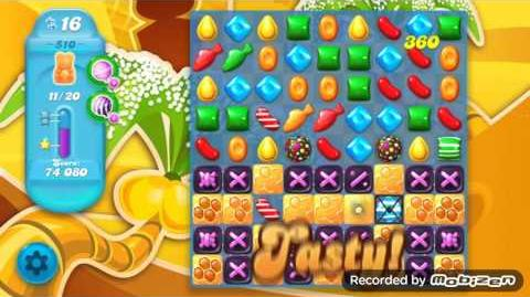 Candy Crush Soda Saga Level 510 (2nd version)