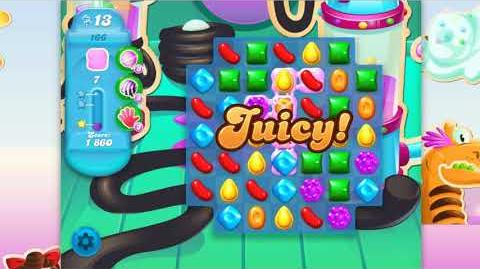 Candy Crush Soda Saga - Level 166 - No boosters