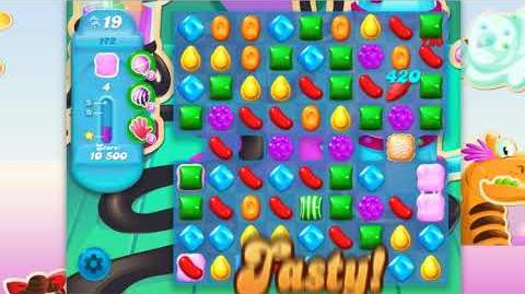 Candy Crush Soda Saga - Level 172 - No boosters ☆☆☆
