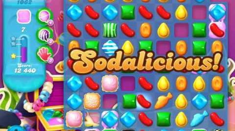 Candy Crush Soda Saga Level 1062 (3 Stars)