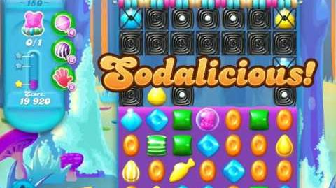 Candy Crush Soda Saga Level 150 (5th version, 3 Stars)