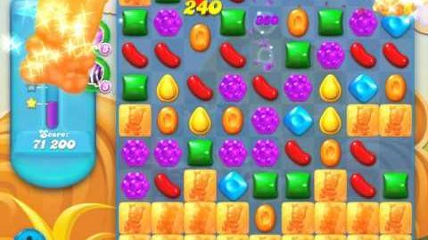 Candy Crush Soda Saga Level 158 (5th version, 3 Stars)