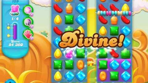 Candy Crush Soda Saga Level 159 (5th version, 3 Stars)
