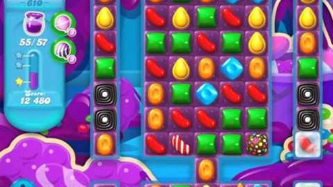 Candy Crush Soda Saga Level 610 (3 Stars)