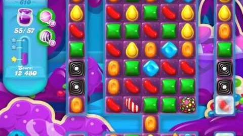 Candy Crush Soda Saga Level 610 (3 Stars)