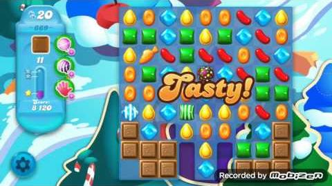 Candy Crush Soda Saga Level 669 (3 Stars)