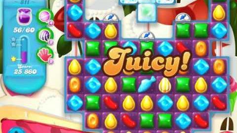 Candy Crush Soda Saga Level 811 (3 Stars)