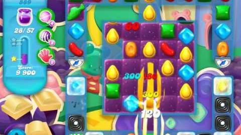Candy Crush Soda Saga Level 889 (5th version, 3 Stars)
