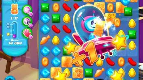 Candy Crush Soda Saga Level 1191 (2nd buffed, 3 Stars)