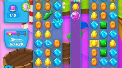 Candy Crush Soda Saga Level 124 (buffed, 3 Stars)