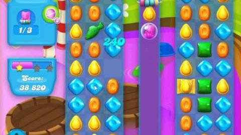 Candy Crush Soda Saga Level 124 (buffed, 3 Stars)