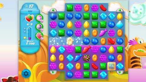 Candy Crush Soda Saga - Level 151 - No boosters ☆☆☆