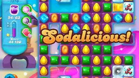 Candy Crush Soda Saga Level 1370 (4th version, 3 Stars)