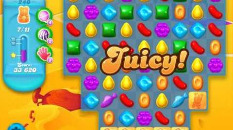 Candy Crush Soda Saga Level 240 (9th version)
