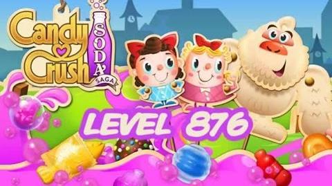 Candy Crush Soda Saga Level 876