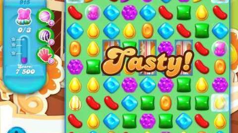Candy Crush Soda Saga Level 915 (4th version)
