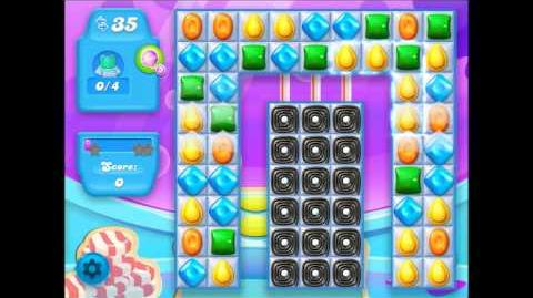Candy Crush Soda Level 206 candy flow direction