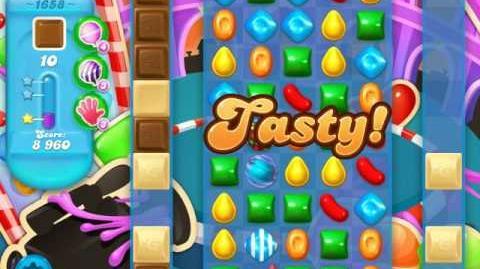 Candy Crush Soda Saga Level 1658 (3 Stars)