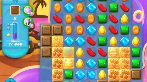 Candy Crush Soda Saga Level 110 (4th version, 3 Stars)
