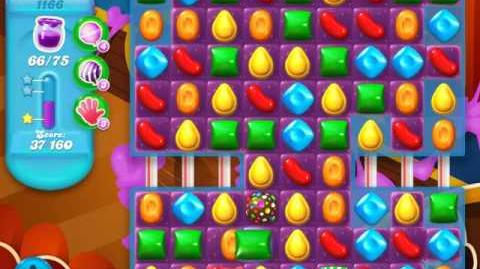 Candy Crush Soda Saga Level 1166 (3 Stars)