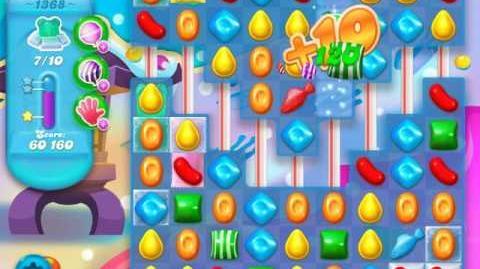Candy Crush Soda Saga Level 1368 (3 Stars)