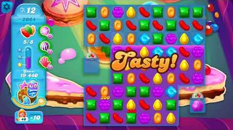 Candy Crush Soda Saga Level 2064